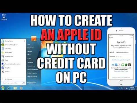 how to make a apple account without credit card how to make free apple id or itunes account doovi