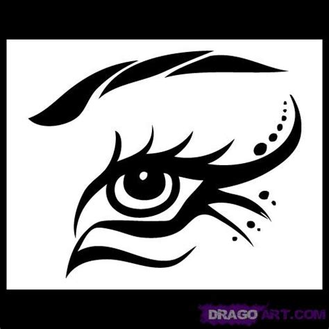 tribal tattoos easy to draw how to draw a tribal eye step by step tribal pop