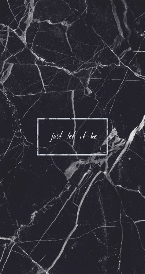marble aesthetic black marble just let it be quote grunge tumblr aesthetic