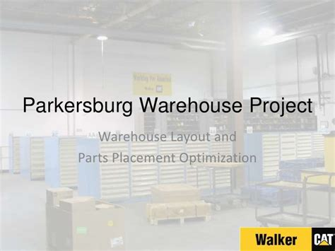 warehouse layout slideshare parkersburg warehouse project closeout meeting