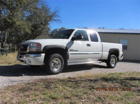 2003 gmc sierra 2500 recalls cars com sell used 2003 gmc sierra 2500hd ext cab 2wd duramax in spicewood texas united states for us