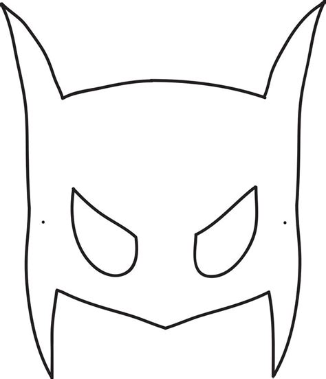 best 25 batman mask template ideas on pinterest