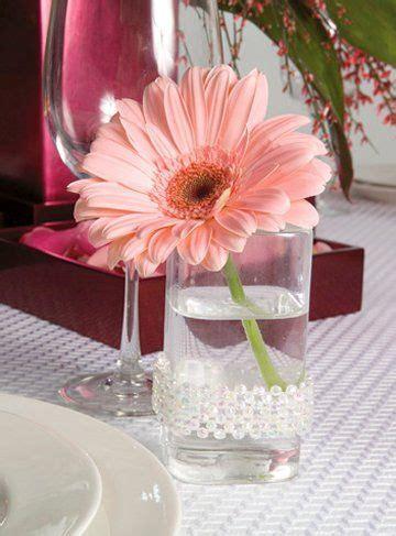 gerbera centerpieces for weddings wedding shower