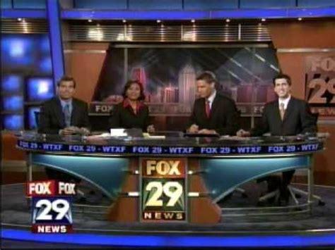 fox 29 news videos wtxf wtxf fox 29 news at six show close youtube