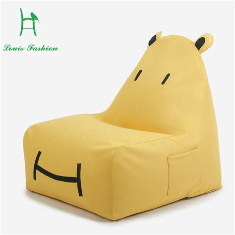 cartoon cute beanbag sofa single palm chair cushions for children online buy wholesale small single bed linen from china