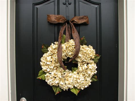 Wedding Wreaths For Front Door Wedding Decor Wedding Wreaths Chagne Front By Twoinspireyou