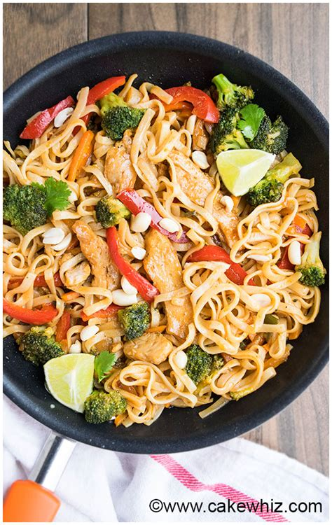 chicken pad thai cakewhiz