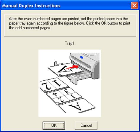 how to print a two sided document using microsoft word or printing on both sides of the paper manual duplex printing