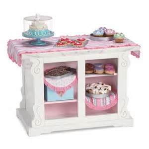 Nightstand Tablecloth Doll Furniture An American Blog