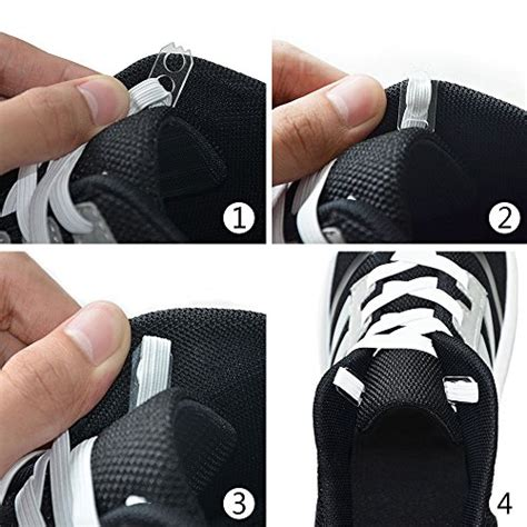 mens no tie athletic shoes isun elastic no tie shoelaces for shoes running