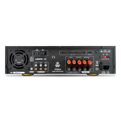 Home Audio Lifier by New Pyle Pt592a Bluetooth 5 1 Channel 300w Hdmi Home
