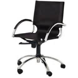 West Elm Swivel Desk Chair by Swivel Leather Desk Chair West Elm Polyvore