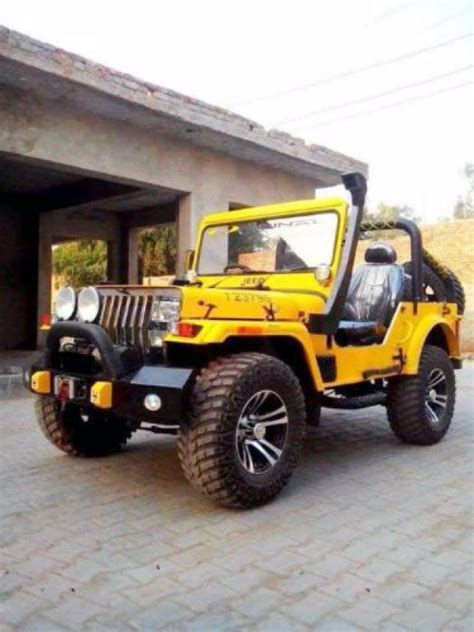 mahindra jeep 2016 2016 model mahindra modified willys jeep for sale at