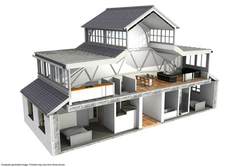 3d home kit by design works home www jra vectorworks cad co uk