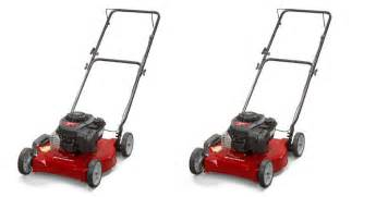 lawn mowers clearance clearance gas powered lawn mower just 35