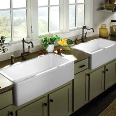 farmhouse kitchen sink   dream home   Pinterest