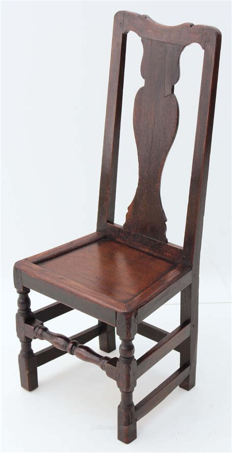 17c 18c High Back Oak Hall Side Dining Chair Antiques Atlas High Back Oak Dining Chairs