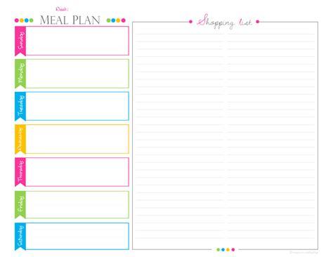 weekly menu planning gwens nest