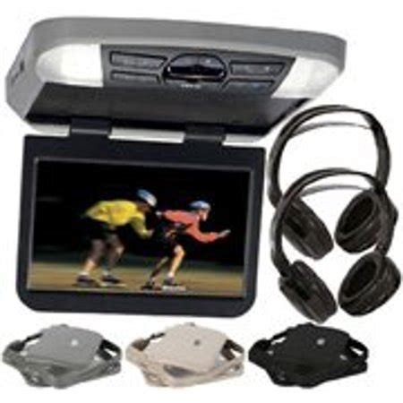 audiovox avxmtg10ua 10 overhead monitor w built in dvd player usb sd input remote includes