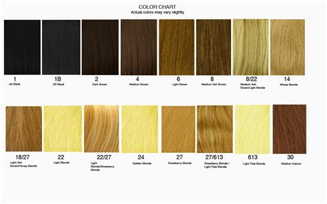 hair color chart 2 qlassyhairextensions how to find the right hair extensions for you hair