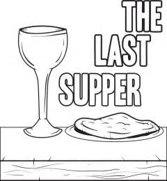 last supper coloring page free coloring pages of lord s supper