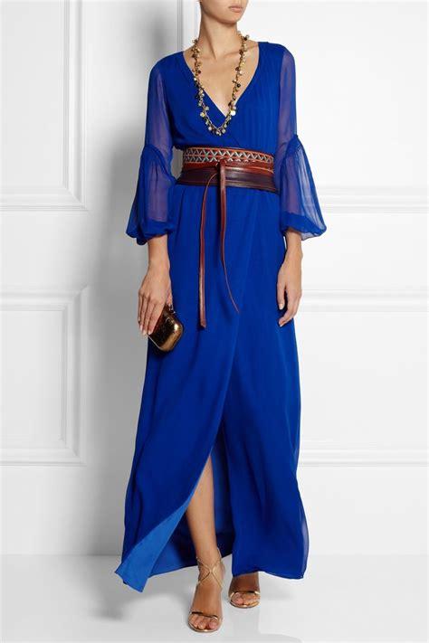 Fashion Diane Furstenberg Chiffon Wrap Dress diane furstenberg catroux silk chiffon wrap maxi