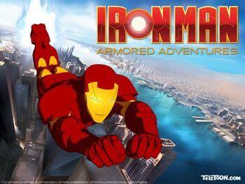 iron man armored adventures iron man wiki fandom