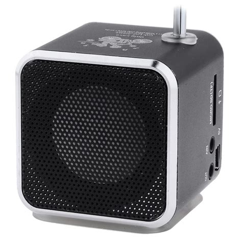 Speaker Mini Surabaya speaker mini portabel fm radio tf card td v26 black jakartanotebook
