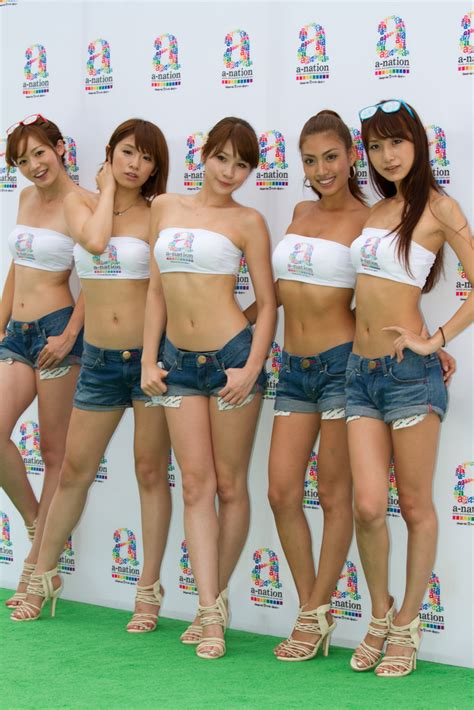 A World Of Candids Nation 11 by A Nation 真夏の野外撮影会 011 橋本雪乃さん 遠野千夏さん 立花サキさん 青山めぐさん