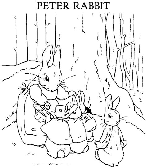 beatrix potter coloring pages coloring home