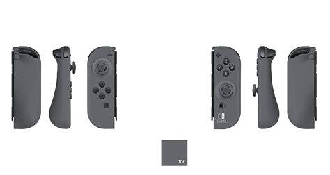Nintendo Switch Con Gray a look at the pdp nintendo switch con blue grey and
