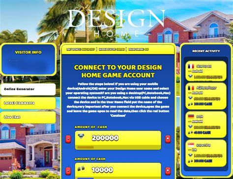 design home hack online unlimited diamonds download diamonds design home hack add unlimited cash online