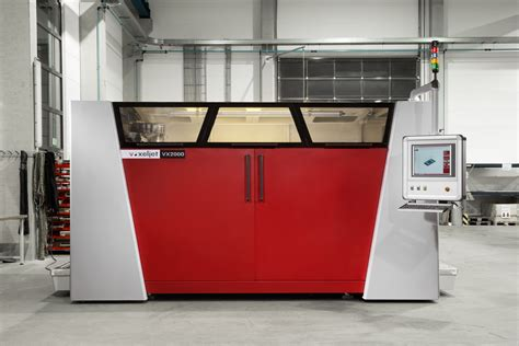 3d industrial printer voxeljet expands its product offering with the launch of