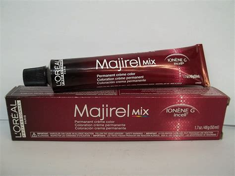 l oreal professional majirel mix copper permanent hair color 50ml hair and supplier l oreal professional majirel ionene g incell permanent creme hair color 1 7 fl oz