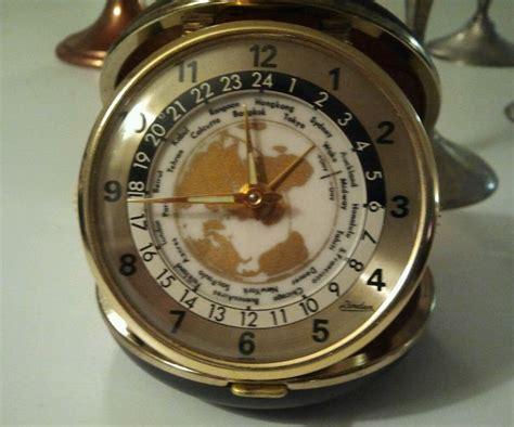 Rueben The Robot Vintage Travel Alarm by Vintage Collectible Alarm Clock Japan Linden Travel