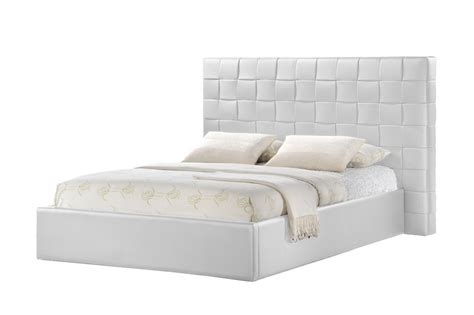white headboards queen size baxton studio prenetta white modern bed with upholstered