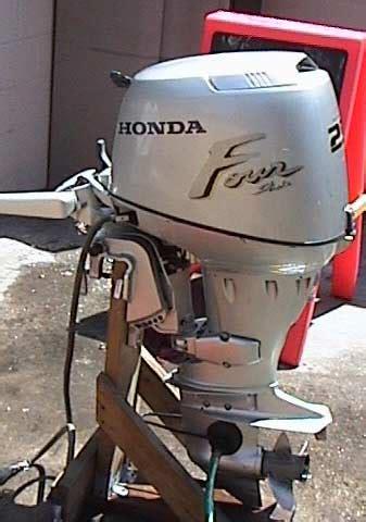 Used Honda 25 Hp Outboard For Sale 4 Stroke Honda