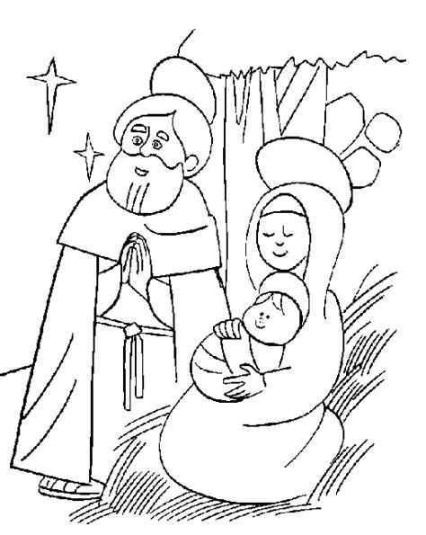 coloring pages jesus birth search results for manger sketch calendar 2015