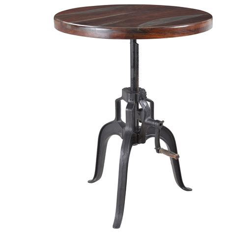 adjustable dining table desk by coast to coast imports coast to coast imports liverpool adjustable bistro pub