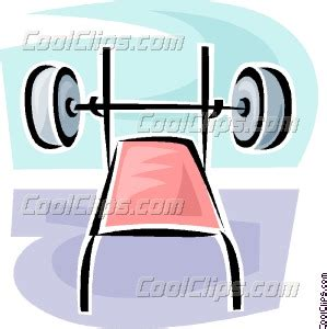 bench press clips bench press vector clip art