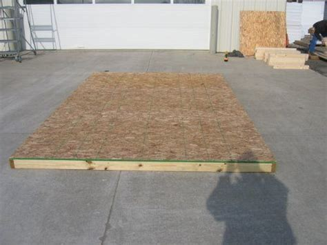 Plywood For Shed Floor by 1000 Ideas About 8x8 Shed On 6x8 Shed Craftsman Sheds And Diy Decks Ideas