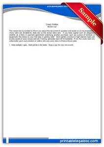 Free two week notice template