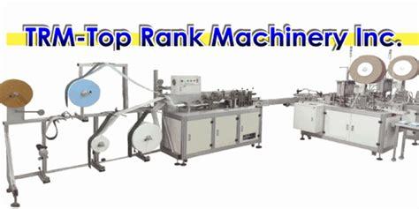 trm machines nonwoven mask machine trm machinery