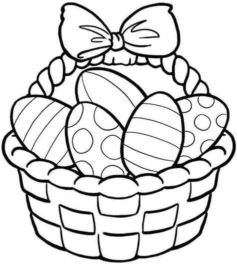 coloring pages for easter basket 25 unique easter coloring pages ideas on