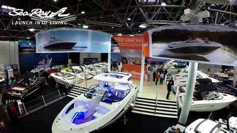 duesseldorf boat show dusseldorf boat show sea ray stand 2014 youtube