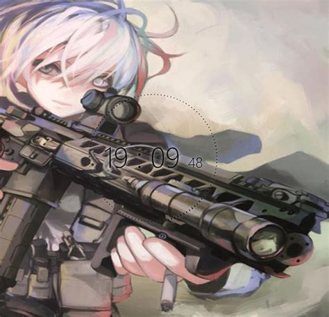 wallpaper engine just do it anime military girl wallpaper engine free wallpaper