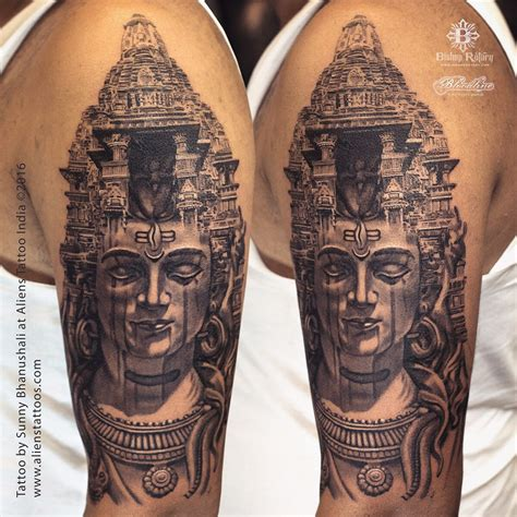 tattoo temple temple of lord shiva by bhanushali at aliens
