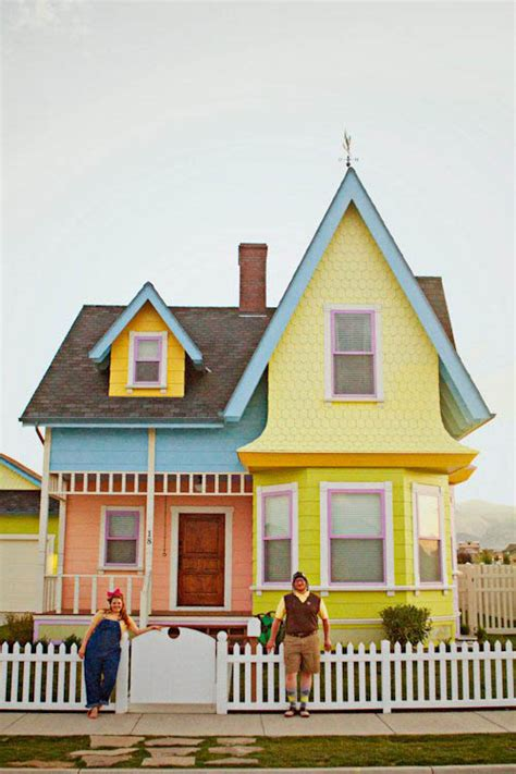 Up House Pixar by Pixar Up House Photo Shoot 008 183 Rock N Roll