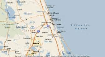 map of edgewater florida map of edgewater