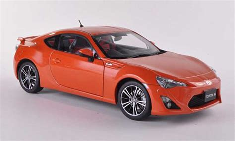 Welly Toyota 86 Orange toyota 86 2012 miniature limited asian version rhd